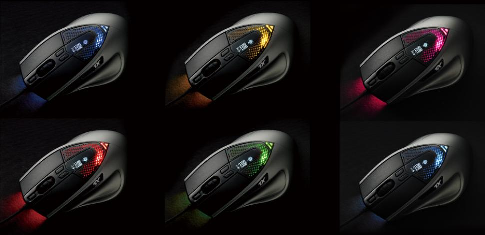 CM Storm Sentinel Advance 2: Gaming-Maus mit Octo-Shade-LED-System und 8.000 DPI (1)