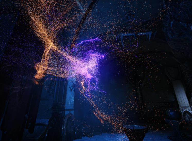 Unreal Engine 4: GPU particles