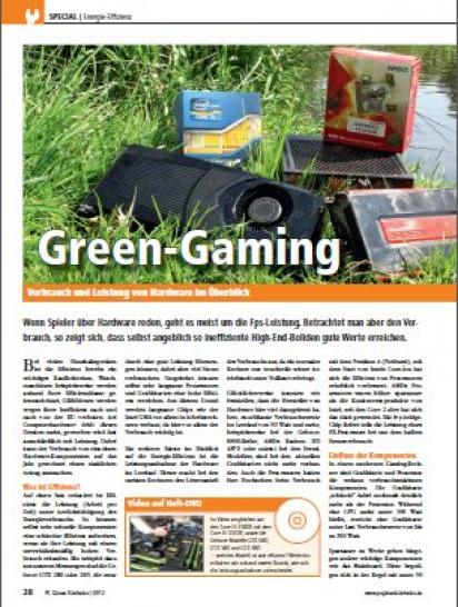 Green Gaming - Energieeffzienz bei Hardware (1)