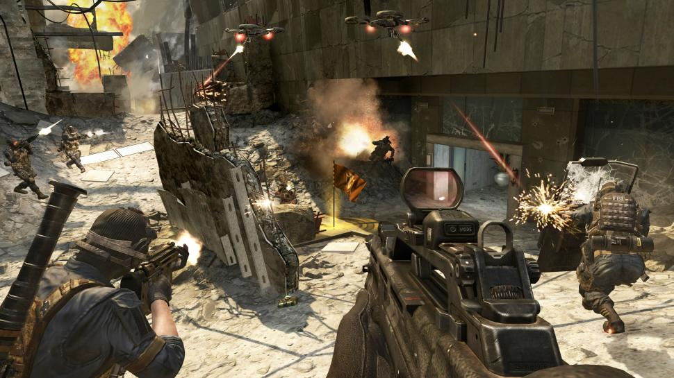 Call of Duty: Black Ops 2 - im Multiplayer-Modus Schwerpunkt auf Teamwork (1)