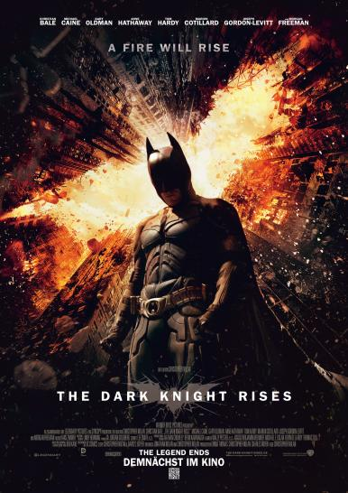 The Dark Knight Rises: Hauptplakat