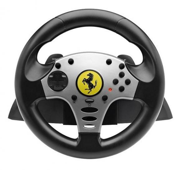 lenkrad thrustmaster ver ffentlicht ferrari challenge wheel. Black Bedroom Furniture Sets. Home Design Ideas