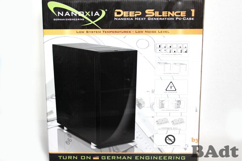 Midi-Tower Nanoxia Deep Silence 1 im PCGHX-Test (1)