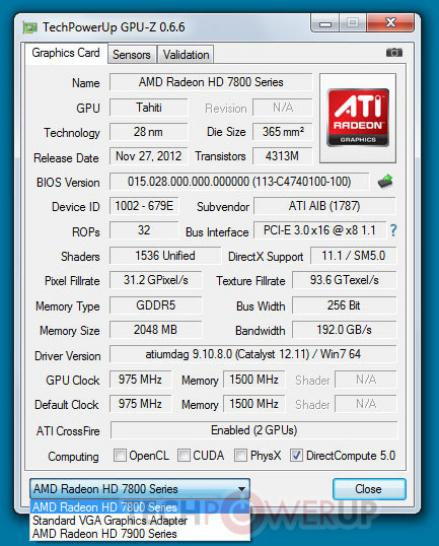 HD 7870 (Tahiti LE) in Verbindung mit HD-7900-Serie Crossfire-X-tauglich  (1)
