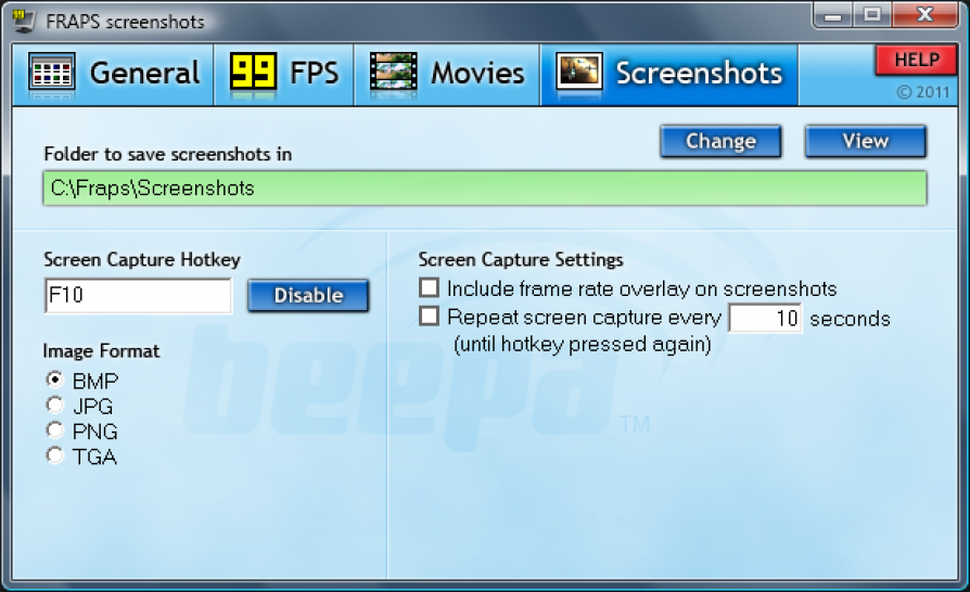 Fraps 3.2.2 download pc