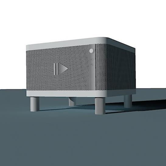 Pc Gehäuse Wohnzimmer, eine wohnzimmer-casecon entsteht: alu-profil-rahmen, externes, Design ideen