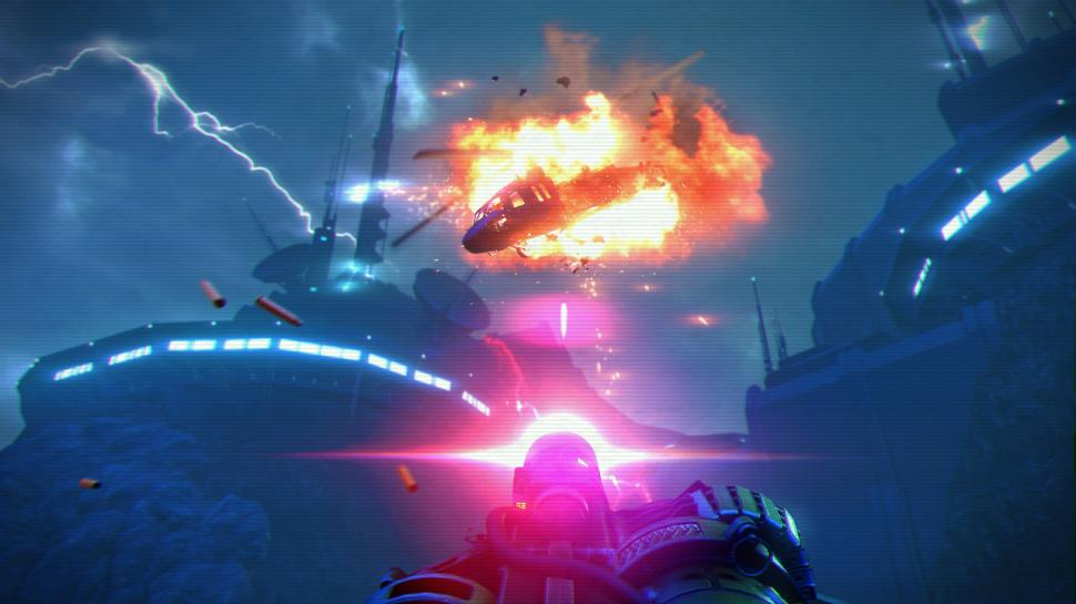Far Cry 3 Blood Dragon: Neue Bilder und Retro-Video mit Terminator-Star Michael Biehn (1)