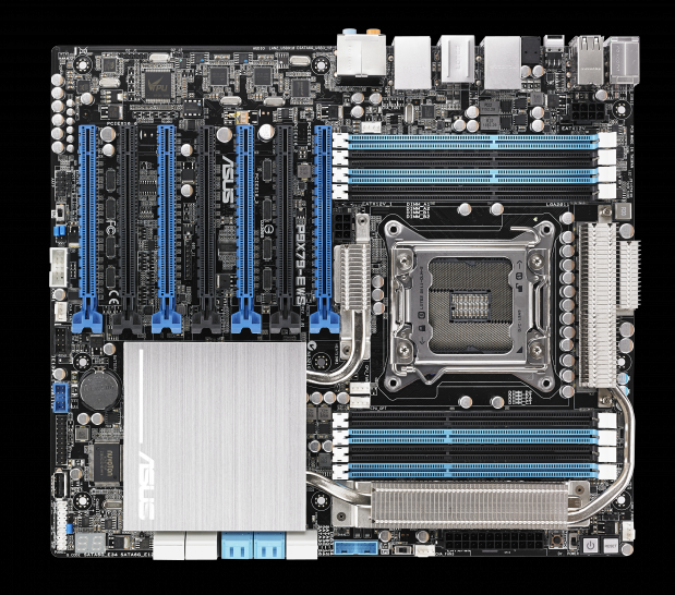 Asus P9X79-E WS: High-End-Workstation-Mainboard kommt Mitte Mai (1)