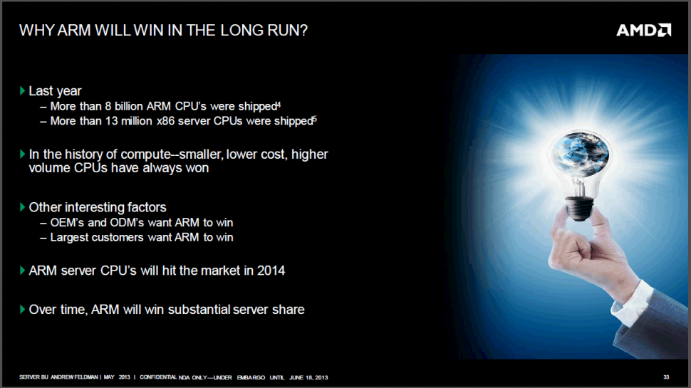 Server-Roadmap 2014: AMD zeigt ARM-Seattle, Steamroller-Berlin und Piledriver-Warsaw (1)