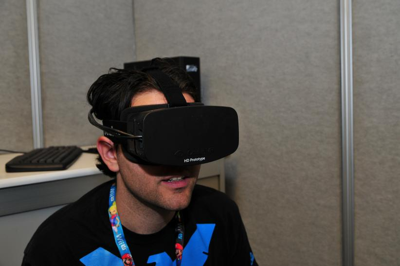 Oculus Rift im Hands-On-Test. (1)