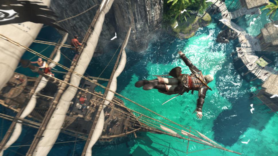 Assassin's Creed 4: Black Flag: Neues Gameplay-Video zeigt Seeschlachten-System (1)