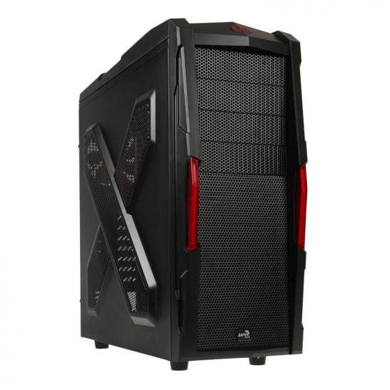 Aerocool Strike X Xtreme Black Edition Midi Tower  schwarz 1  (1)