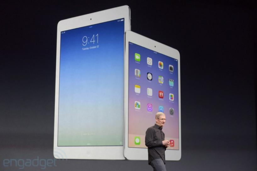 Live-Ticker: iPad 5, iPad mini 2, Apple TV und OS X Mavericks ab 19 Uhr