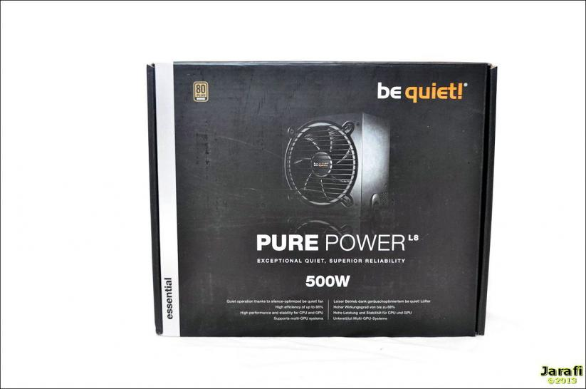 Be quiet Pure Power L8 500W (1)