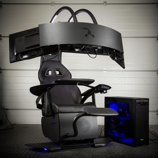 MWE Lab Emperor Chair 1510: Einstellbarer Sessel mit