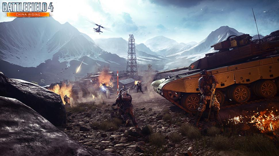 Battlefield 4 China Rising: Altai Range