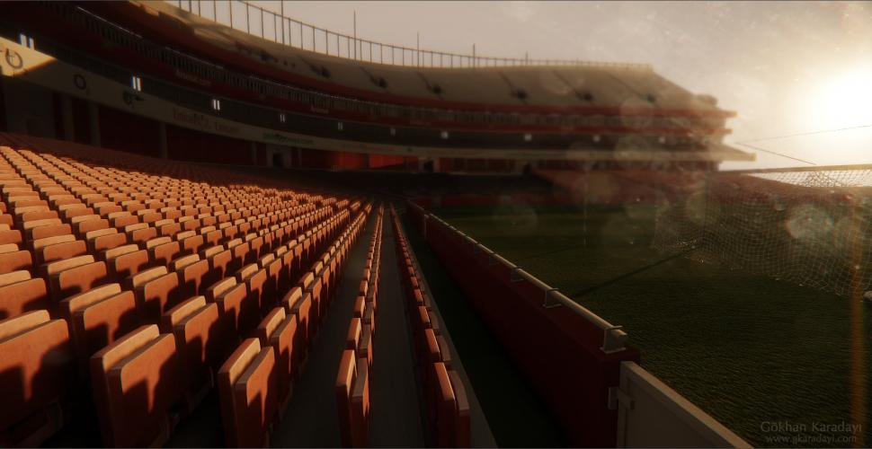 FIFA meets Cryengine 3: FC Arsenal Emirates Stadium remodelliert (1)