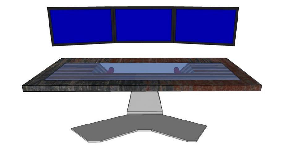 community projekt pc schreibtisch im eigenbau mit. Black Bedroom Furniture Sets. Home Design Ideas