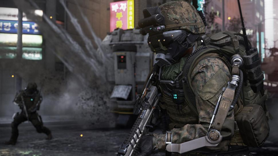 E3 2014: Call of Duty: Advanced Warfare - Spektakulärer Kracher, wenn man den Logiksektor des Hirns ausschaltet (1)