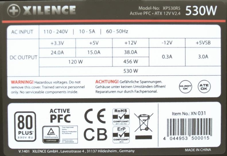 Xilence Performance A Series 530 Watt (1)