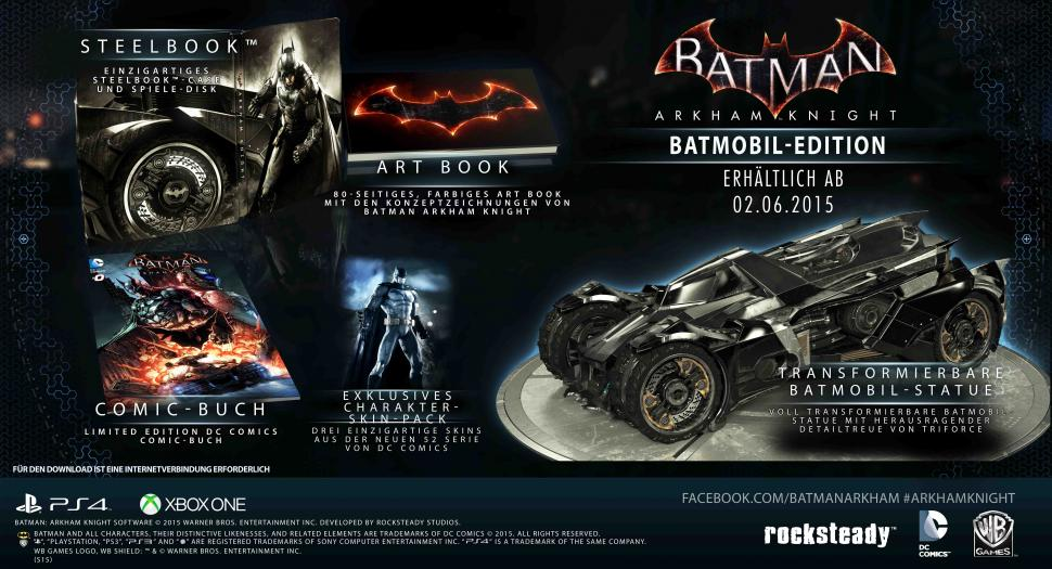 Batman: Arkham Knight - Batmobil Edition