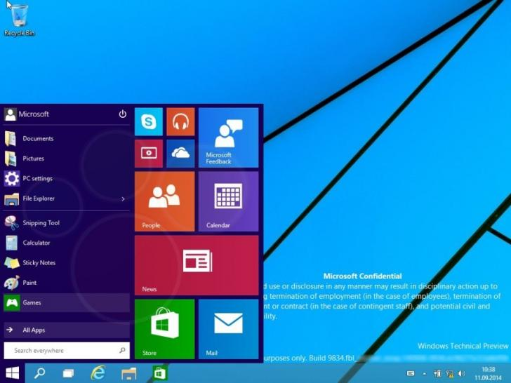 Windows 9: Screenshots von Threshold Technical Preview machen die Runde (1)