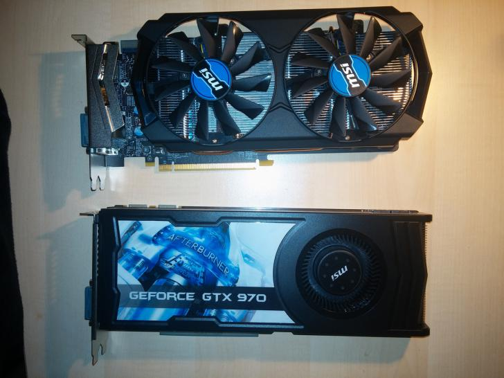 Zwei MSI Geforce GTX 970 im PCGHX-Test: Radial- vs. Axial-Design plus SLI (1)