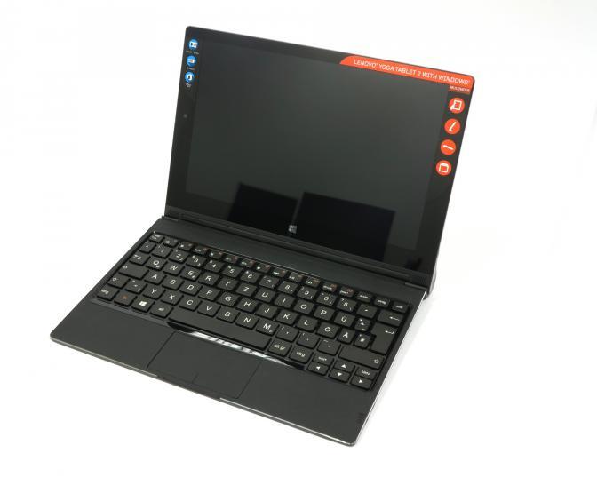 yoga tablet 2 lenovos tablet notebook kombination im test. Black Bedroom Furniture Sets. Home Design Ideas