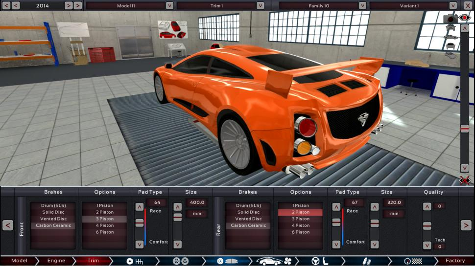 Automation - The Car Company Tycoon Game: Steam Early Access für Auto- und Motorendesign (1)