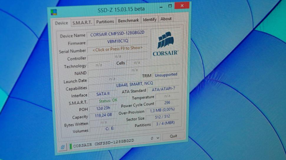 SSD-Z Download: Informations- und Benchmark-Tool (1)