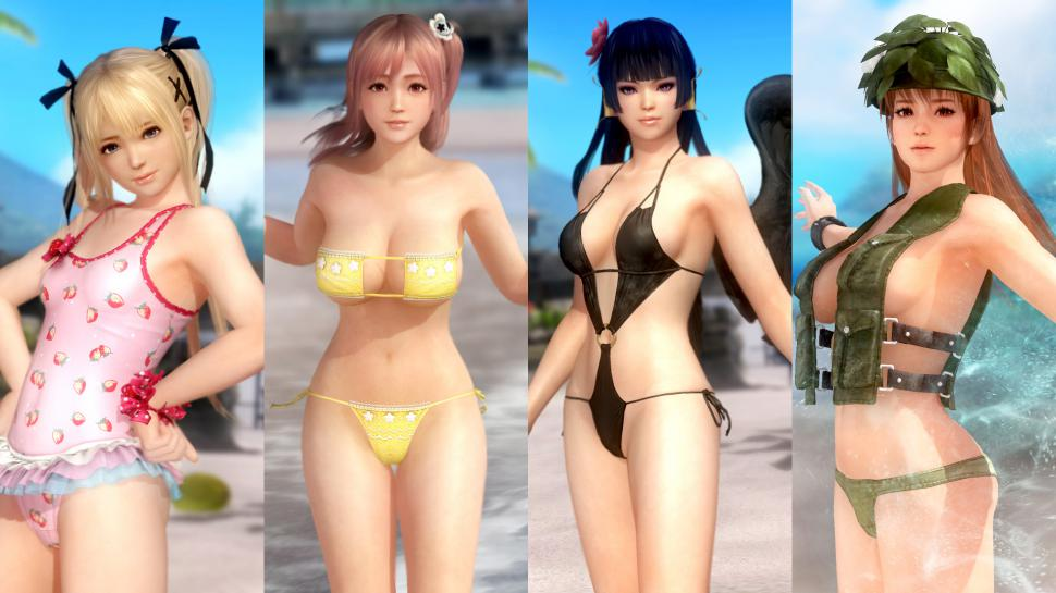 Dead or Alive 5 Tropical Paradise Costume und Movie Set  1