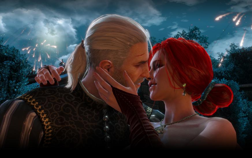 The Witcher 3 Wild Hunt Yennefer Triss Und Ciri Des Hexers