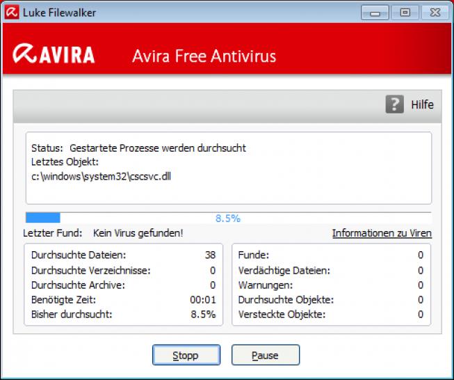 Antivir Avira Free Antivirus 15 0 36 139 Als Download