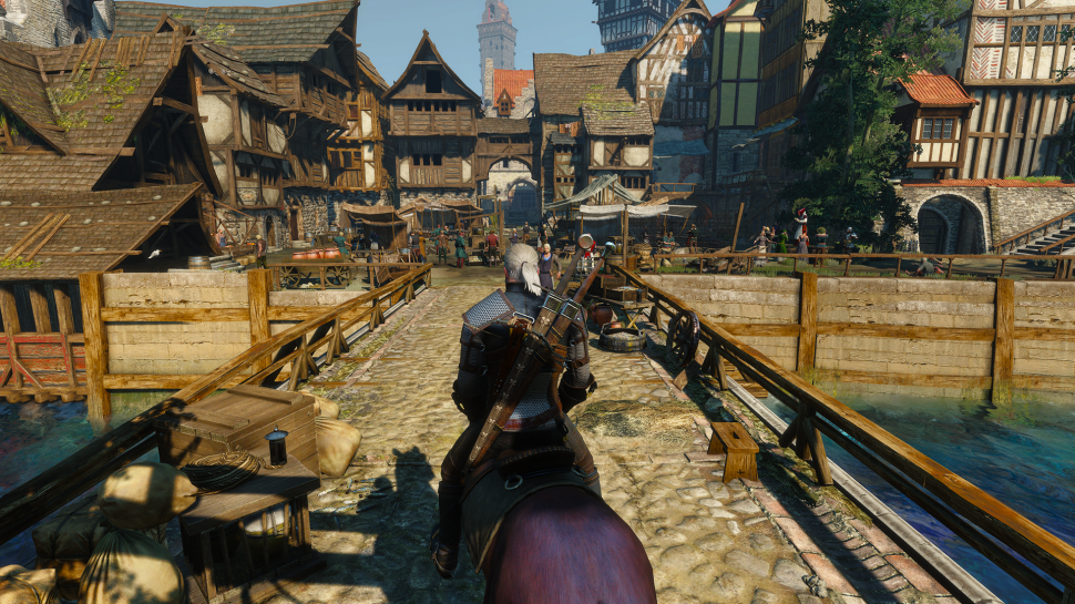 The Witcher 3: Manuelle Tweaks aus