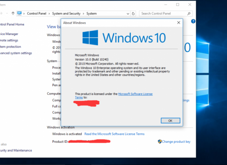 Windows 10: Screenshot zeigt angeblichen RTM-Build 10240 (1)