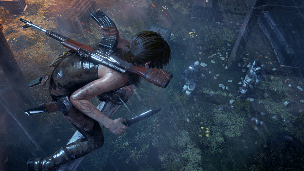 Rise of the Tomb Raider: Gameplay-Trailer zeigt Multifunktionswaffe Lara in Aktion (1)