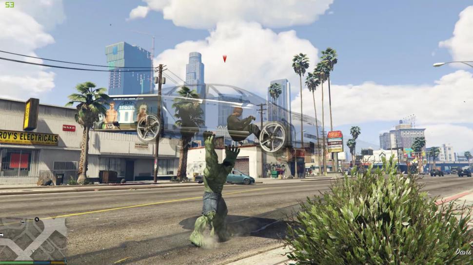 GTA 5 Online: Die langersehnte Hulk-Mod ist da