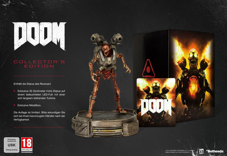 Doom (2016): Release-Termin, Collector's Edition und neuer Trailer (1)