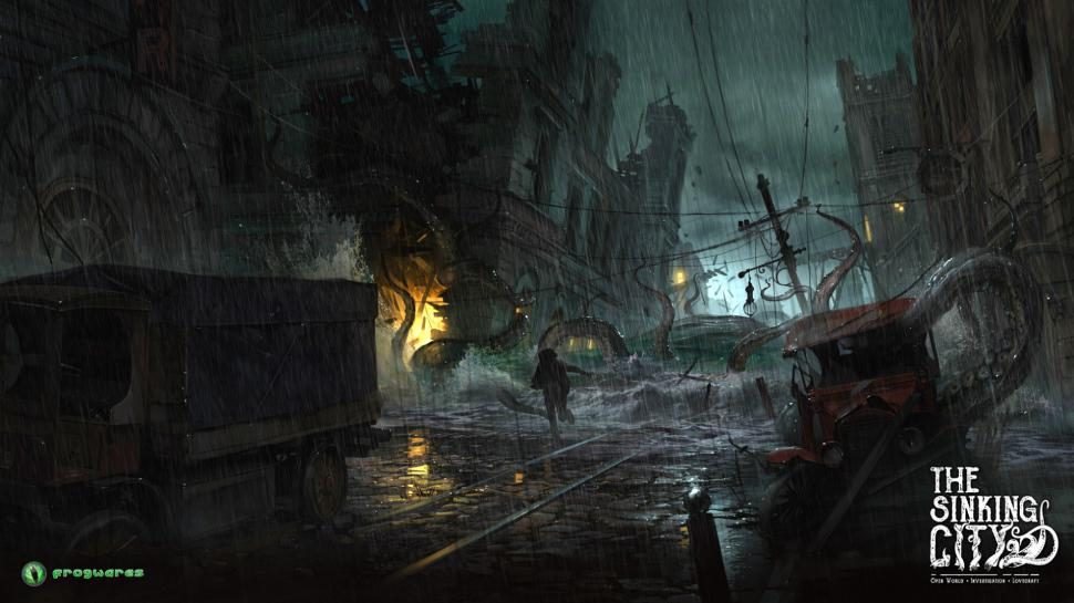 Frogwares arbeitet an The Sinking City. (1)