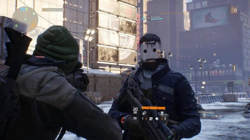 Face Glitch in The Division