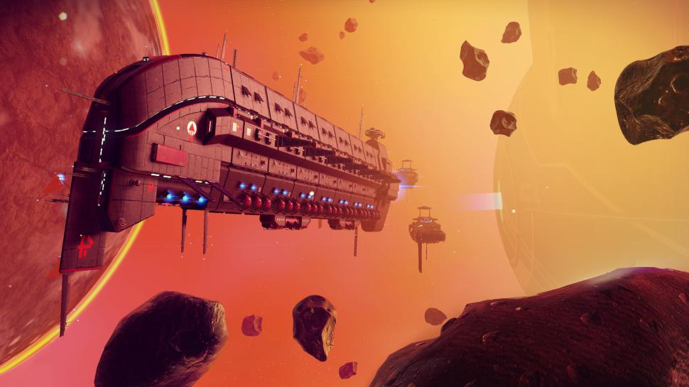 4K-Screenshot aus No Man's Sky von Hello Games