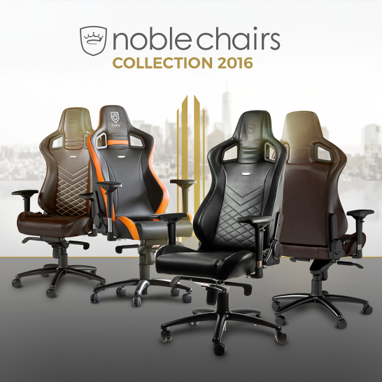Noblechairs neue Gaming-Stühle (1)