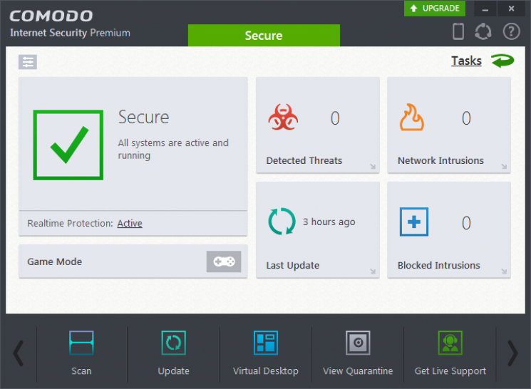 <b>Platz 9 :</b> Comodo Internet Security Premium 8.4 <a href=