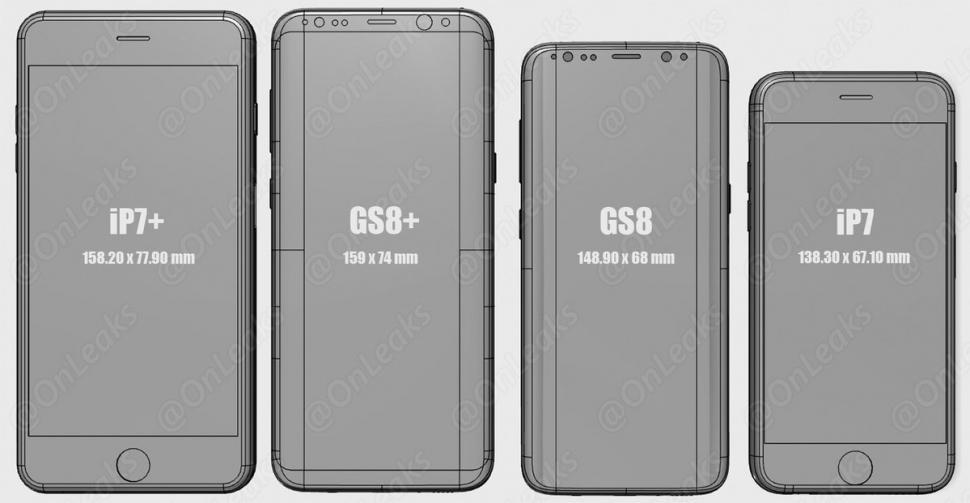 smartphone vergleich 2017