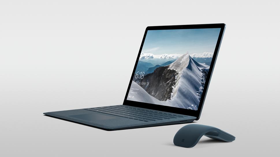 microsoft surface laptop edel notebook mit windows 10 s. Black Bedroom Furniture Sets. Home Design Ideas