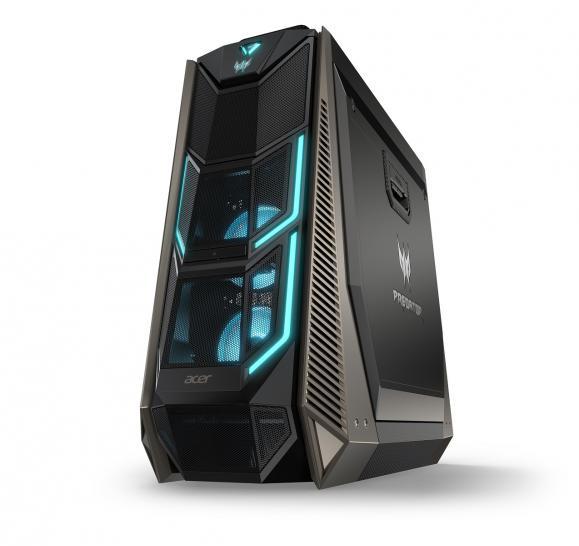 Acer Predator Orion 9000 Core I9 7980XE Trifft Auf Vier