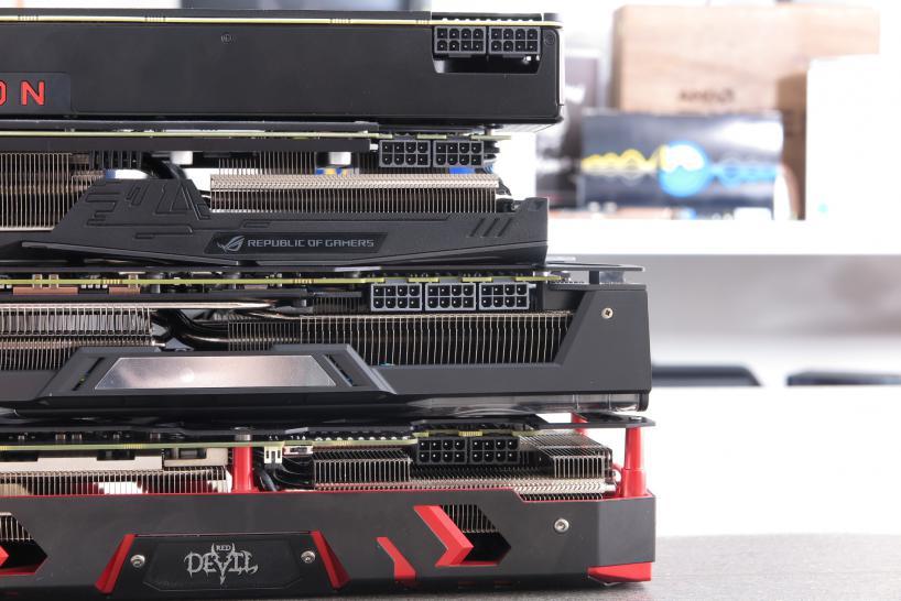 Amd Radeon Rx Vega 64 Sapphire Nitro Powercolor Red Devil Und Asus Rog Strix Im Testlabor