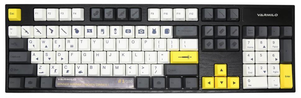 wie man einen Schlüssel auf eine Tastatur setzt