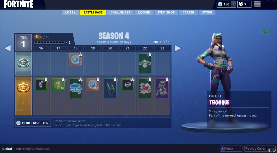 Fortnite Battle Pass Fur Season 4 Mit 100 Belohnungsstufen