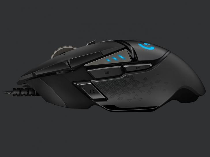 Logitech G502 Hero: Gaming-Maus mit neuem Sensor und
